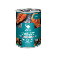 Billy & Margot Salmon with Superfoods Wet Adult Dog Food Tins