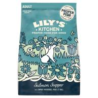 Lilys Kitchen Salmon Supper Complete Dry Food for Dogs