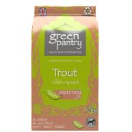 Green Pantry Trout with Lentils & Spinach Dry Dog Food 12kg
