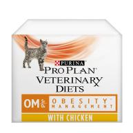 PURINA VETERINARY DIETS Feline OM Obesity Management Cat Food 85g x 10