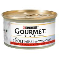 Gourmet Solitaire Beef in Tomato Sauce Cat Food