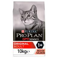 PRO PLAN OPTISENSES Original Salmon Dry Adult Cat Food 10kg