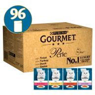 Gourmet Perle Country Medley In Jelly Cat Food 85g x 96