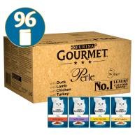 Gourmet Perle Chefs Country Collection in Gravy Cat Food 85g x 96