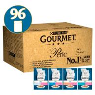 Gourmet Perle Ocean Delicacies in Gravy Cat Food 85g x 96