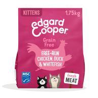 Edgard & Cooper Grain Free Chicken, Duck & Whitefish Dry Kitten Food