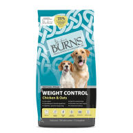 Burns Weight Control Chicken & Oats Adult & Senior Dog Food 12kg
