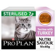 PRO PLAN Sterilised 7+ Senior Wet Cat Food