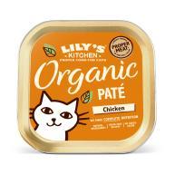 Lilys Kitchen Organic Chicken Pate Complete Wet Cat Food