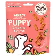 Lilys Kitchen Chicken & Salmon Nibbles Puppy Treats