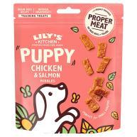 Lilys Kitchen Chicken & Salmon Nibbles Puppy Treats 70g