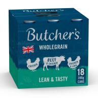 Butchers Lean & Tasty Low Fat Dog Food Tins 400g x 18