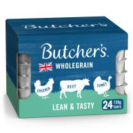 Butchers Lean & Tasty Low Fat Dog Food Trays 150g x 24