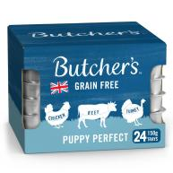Butchers Perfect Puppy Dog Food Trays 150g x 24