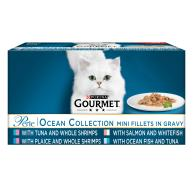 Gourmet Perle Chefs Ocean Collection Adult Cat Food 85g x 60