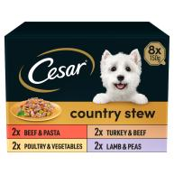 Cesar Country Stew Special Selection Wet Adult Dog Food 150g x 8