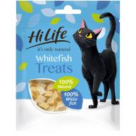 HiLife Its Only Natural Adult White Fish Cat Treats 10g