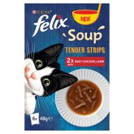 Felix Soup Tender Strips Farm Selection Cat Food