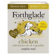 Forthglade Complete Chicken Senior Dog Food 395g x 18