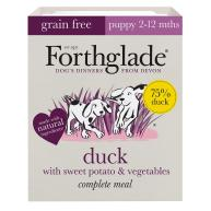 Forthglade Complete Grain Free Duck Sweet Potato & Veg Puppy Food 395g x 18