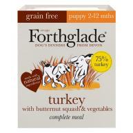Forthglade Complete Grain Free Turkey, Butternut Squash & Veg Puppy Food