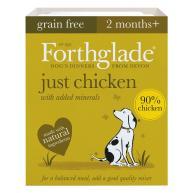 Forthglade Just Chicken Dog Food 395g x 18