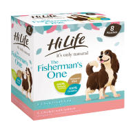 HiLife Its Only Natural Complete The Fishermans One Wet Adult Dog Food