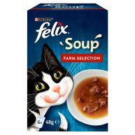 Felix Farm Selection Soup Wet Cat Food