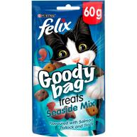 Felix Goody Bag Seaside Mix Cat Treats