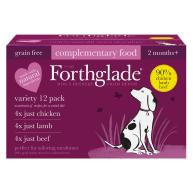 Forthglade Natural Menu Just Multipack Dog Food