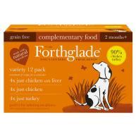Forthglade Natural Menu Just Poultry Multipack Wet Dog Food