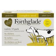 Forthglade Grain Free Complete Meal Poultry Multipack Adult Wet Dog Food