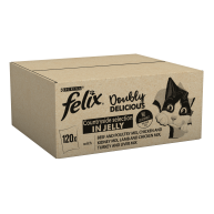 Felix As Good As It Looks 1+ Doubly Delicious Meaty Selection Cat Food