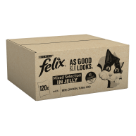 Felix As Good As It Looks 1+ Mixed Selection Cat Food