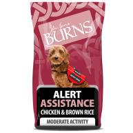 Burns Alert Chicken & Brown Rice Adult & Senior Dog Food