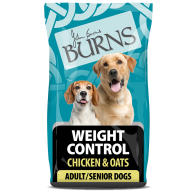 Burns Weight Control Chicken & Oats Adult & Senior Dog Food