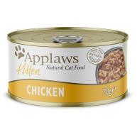 Applaws Natural Chicken Breast in Broth Wet Kitten Food