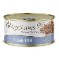 Applaws Natural Ocean Fish in Broth Wet Adult Cat Food