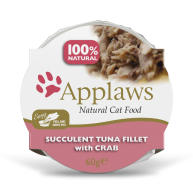 Applaws Natural Tuna with Crab in Broth Pot Wet Adult Cat Food
