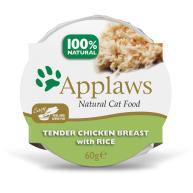 Applaws Natural Chicken with Rice in Broth Pot Wet Adult Cat Food