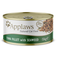 Applaws Natural Tuna Fillet with Seaweed in Broth Wet Adult Cat Food