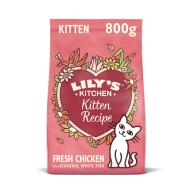Lilys Kitchen Curious Chicken Complete Dry Kitten Food