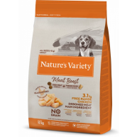 Natures Variety Meat Boost Free Range Chicken Dry Adult Dog Food