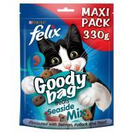 Felix Goody Bag Seaside Mix Cat Treats