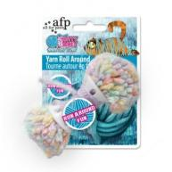 All For Paws Knotty Habit Yarn Roll Around Cat Toy