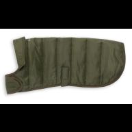 Barbour Baffle Quilt Dog Coat in Olive