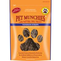 Pet Munchies Natural Venison Dog Treats