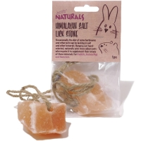 Rosewood Himalayan Salt Lick Stone for Small Animals
