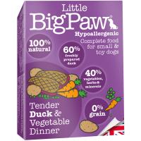 Little Big Paw Dog Tender Duck & Veg Dinner Dog Food