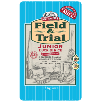 Skinners Field & Trial Duck & Rice Junior Dog Food